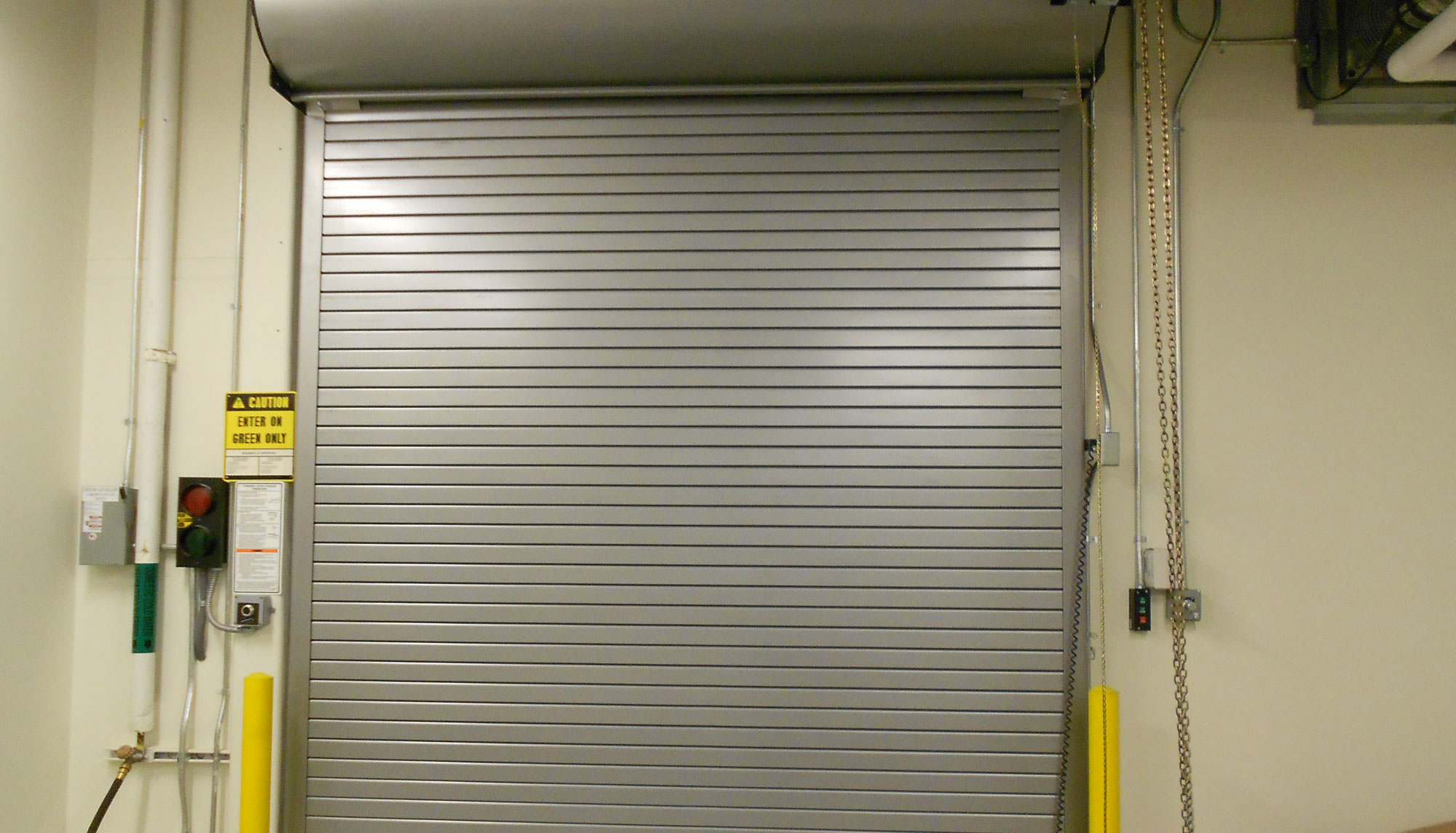 Commercial Rolling Steel Capital Doors